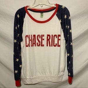 Chase Rice American Flag Long Sleeve